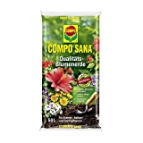 Compo Sana Quality-Potting Soil (1115124); Plantation Substratum; (50 Litres); For Planting And Repotting: (Color: Brown, Tamaño: 50 Litre)