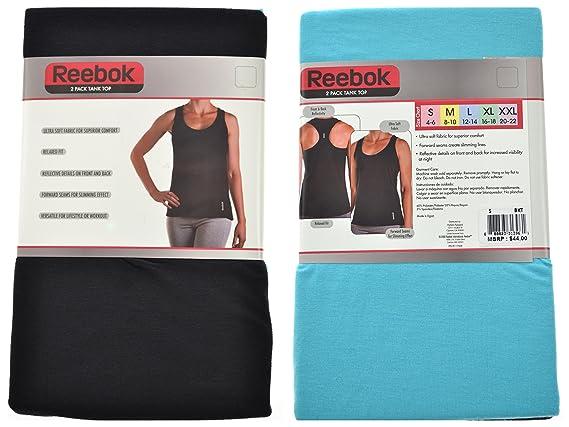 Reebok Ladies 2 Pack Ultra Soft Tank Top