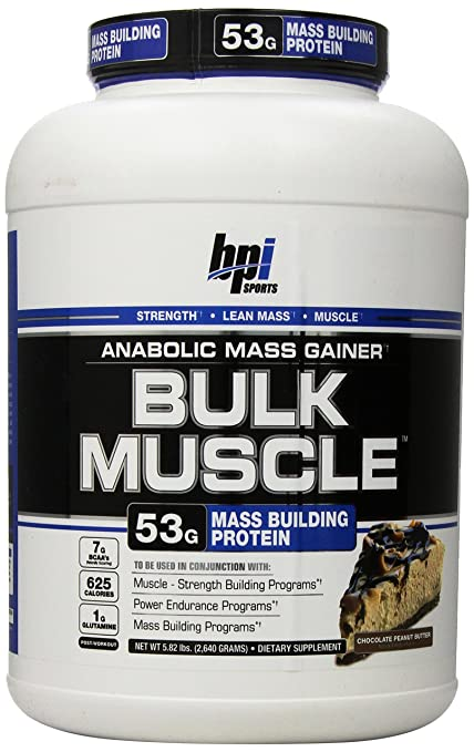 BPI Sports Bulk Muscle 2640 g Mass Gainer Chocolate Peanut Butter