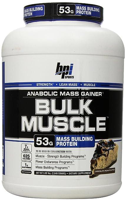 BPI Sports Bulk Muscle 2640 g Mass Gainer Chocolate Peanut Butter