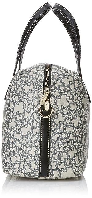 84c1dc990 Tous Bowling mediano Kaos Mini, Women's Bag, Beige (Color: Beige, Tamaño:  13x20x35 cm (W x H ...