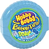 Hubba Bubba Sour Blue Raspberry Bubble Gum Tape, 2 ounce (Pack of 6) (Tamaño: 2 ounce (Pack of 6))
