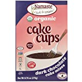 Namaste Foods Organic Cake Cup, Dark Chocolate, 9.74 Ounce