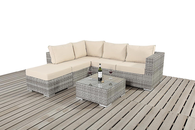 Dallas Rustikal Garten Möbel klein Ecke Sofa-Set jetzt bestellen