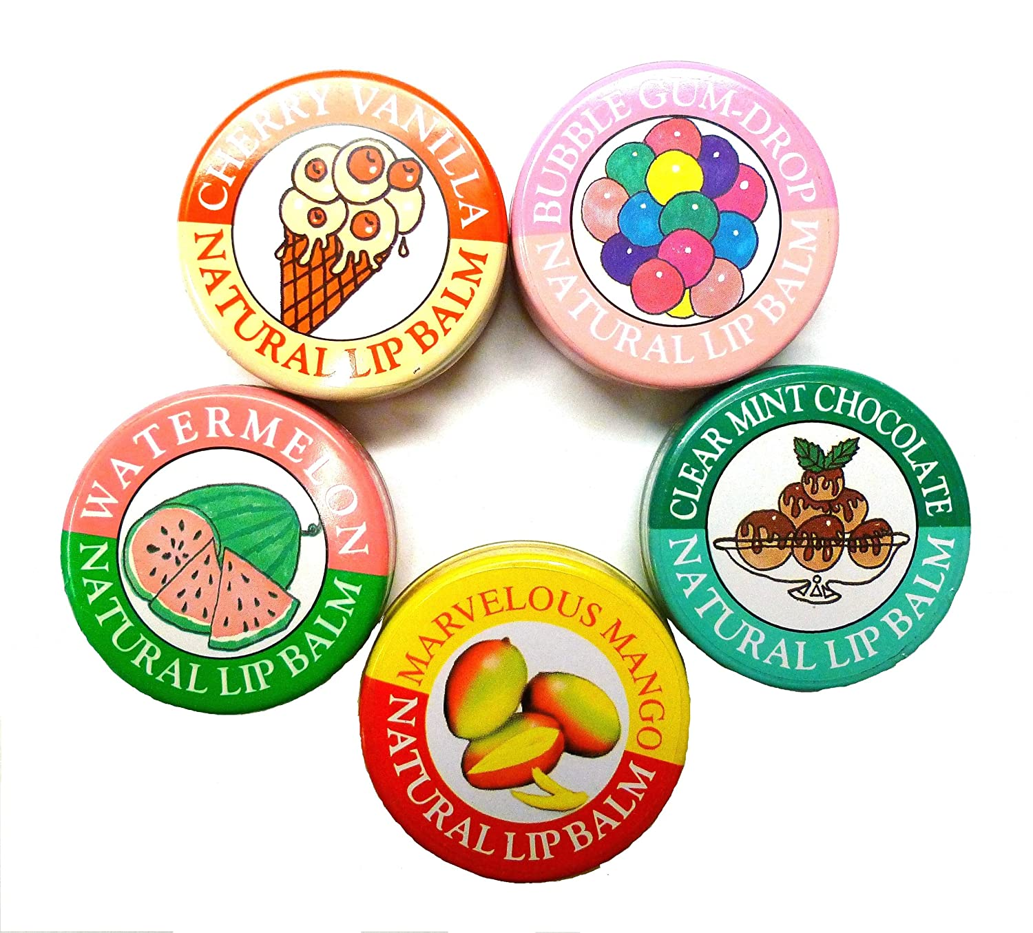Candy Flavored Lip Balm Candy Kisses Natural Lip Balm