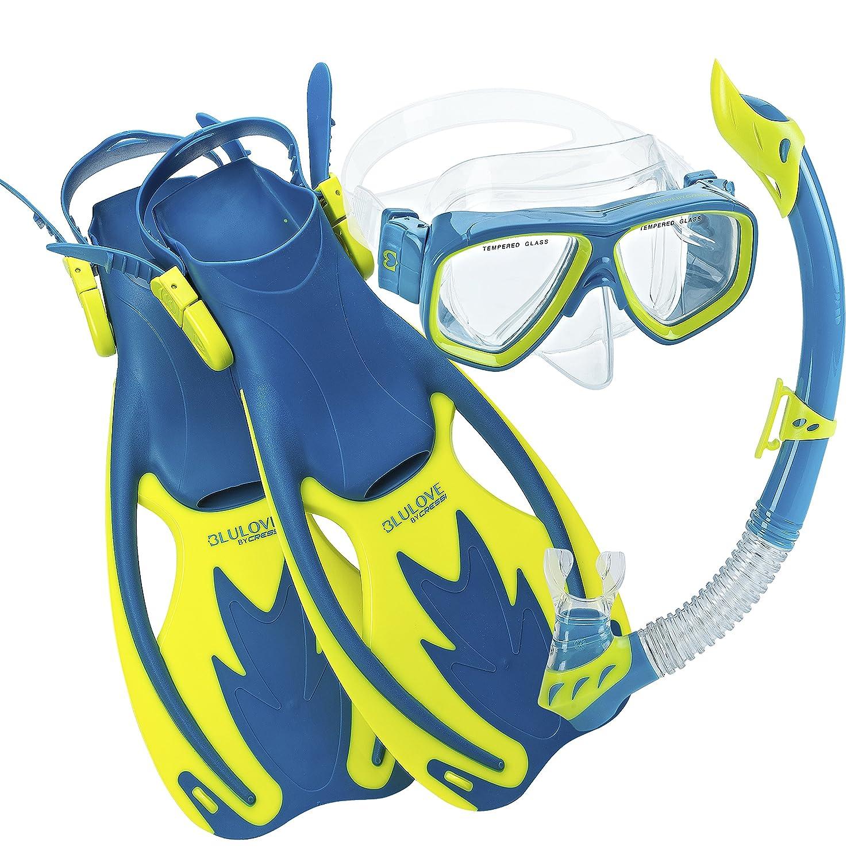 how to wear snorkeling gear