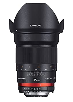 Samyang 35 mm / F 1.4 IF UMC AE ASPHERICAL Objectifs