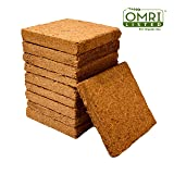 Coco Bliss Premium Coco Coir Brick 250g, OMRI Listed for Organic Use (10 Bricks) (Tamaño: 10 Bricks)