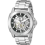 Fossil Men's ME3081 Modern Machine Automatic Stainless Steel Watch (Color: Stainless Steel, Tamaño: One Size)