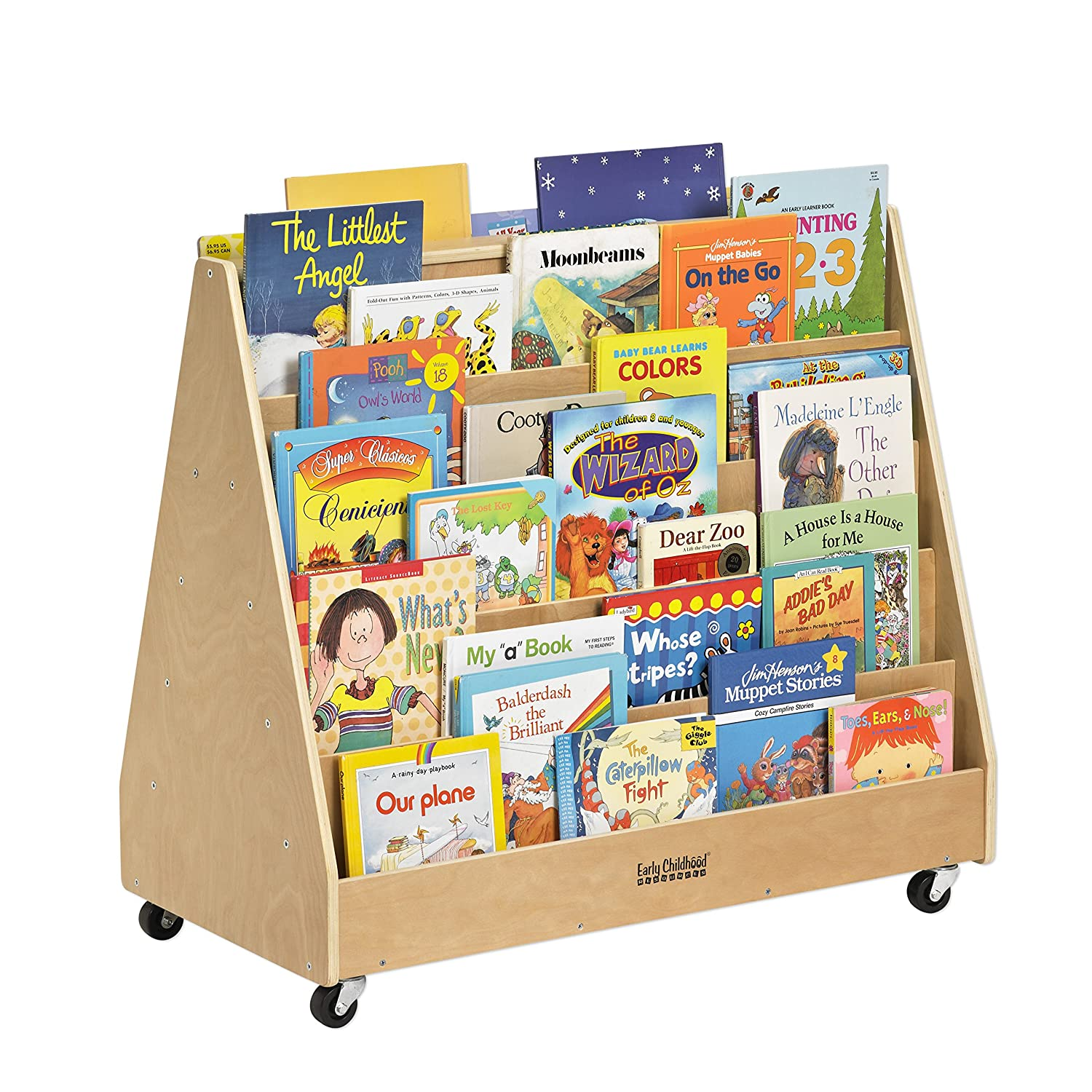 Small Bookcase On Wheels For Children Tips To Organize