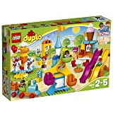LEGO Duplo Town Big Fair 10840 Role Play and Learning Building Blocks Set for Toddlers Including a Ferris Wheel, Carousel, and Amusement Park (106 pieces) (Amazon Exclusive) (Color: Multi)