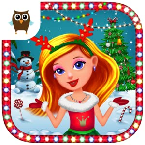 Princess Christmas Wonderland - Build Snowman, Make Decorations, Send Santa a Letter and Dress Up for Winter Holidays from TutoTOONS