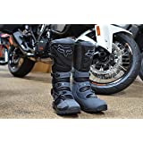 Fox Racing Comp 5 OFFROAD MX Riding Boots Black/Grey Men's Size 10