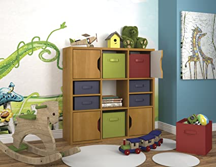 Bestar Generation Bookcase in Cappuccino Cherry
