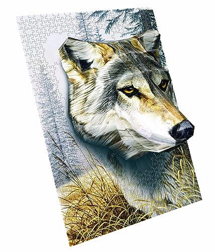 Breakthrough Level Three Wolf Puzzle