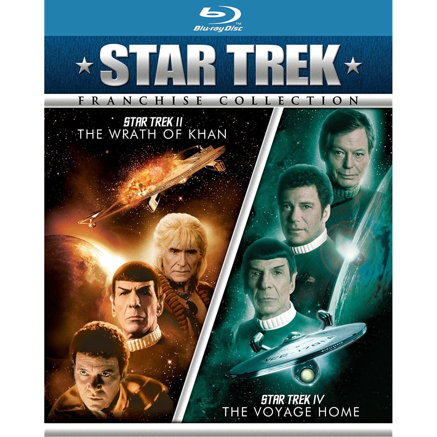 Star Trek 2 pack