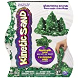 Kinetic Sand The One and Only, 1lb Shimmering Emerald Green Magic Sand for Ages 3 and Up (Color: Multicolor)
