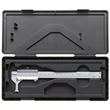 "Mitutoyo 536-142 Vernier Caliper, Stainless Steel, Nib Style Jaw, Inch/Metric, 0.4-8"" Range, +/-.0047"" Accuracy, 0.0005"" Resolution"