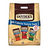Snyder's of Hanover Pretzels Variety 100 Calorie Packs, 22 Count (Pack of 4)