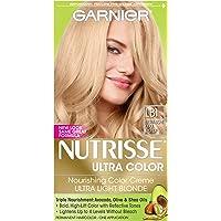 Garnier Nutrisse Ultra Color Nourishing Hair Color Creme (LB1 Ultra Light Cool Blonde)