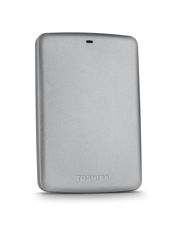 Toshiba Canvio Basics 1TB Portable Hard Drive- Silver (HDTB310XS3AA)