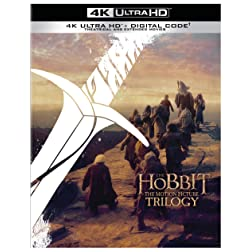 The Hobbit: Motion Picture Trilogy (Extended & Theatrical) [4K Ultra HD]