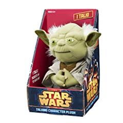 "Underground Toys Star Wars 9"" Talking Plush - Yoda"
