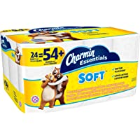 Charmin Essentials 24 Giant Rolls Soft Toilet Paper