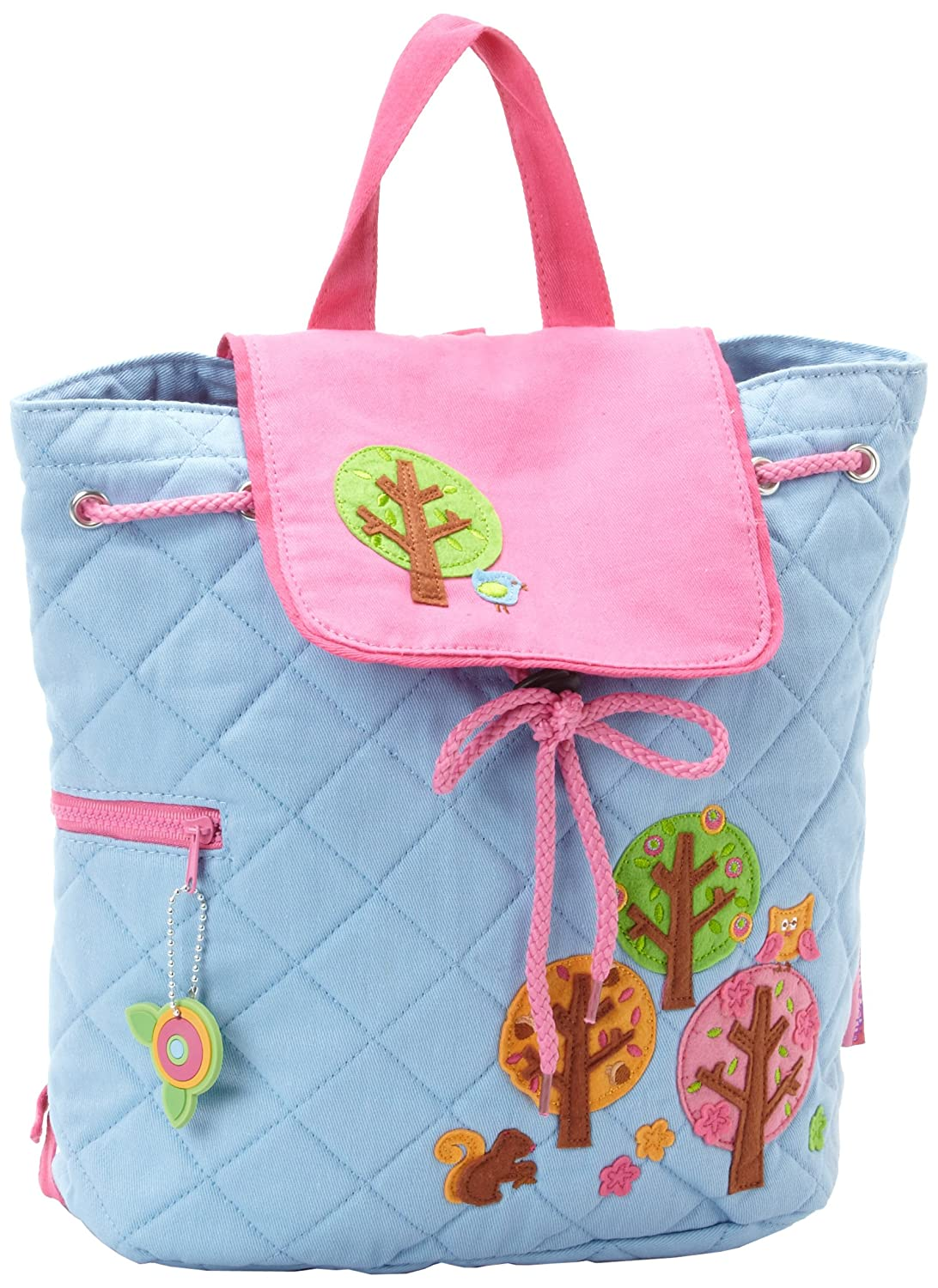 Stephen Joseph Girls Trees Quilted Backpack