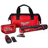 Milwaukee Electric Tool 2426-22 M-12 Oscillating Tool Kit, 12-V