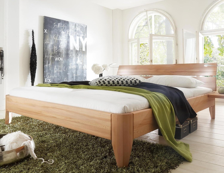 Stilbetten Bett Holzbetten Massivholzbett Trieste Kernbuche (geölt) 140×200 cm kaufen