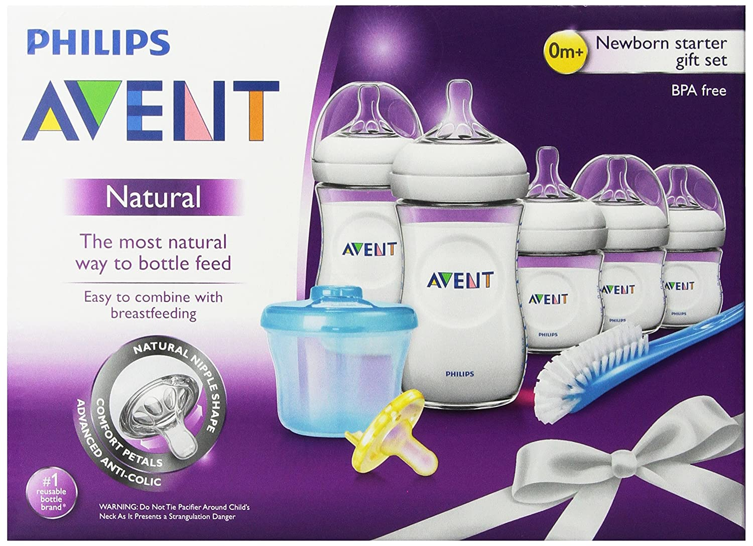 Philips Avent BPA Free Natural Infant Starter Gift Set