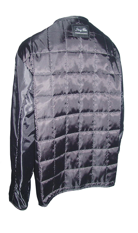 Nettailor 4177 klassisch Fur trimmen Leder Abzugshaube ed Jacke 4 Season tragen Winterm?ntel