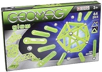Giochi Preziosi - GM002 - Geomag - Glow 64 Pcs -