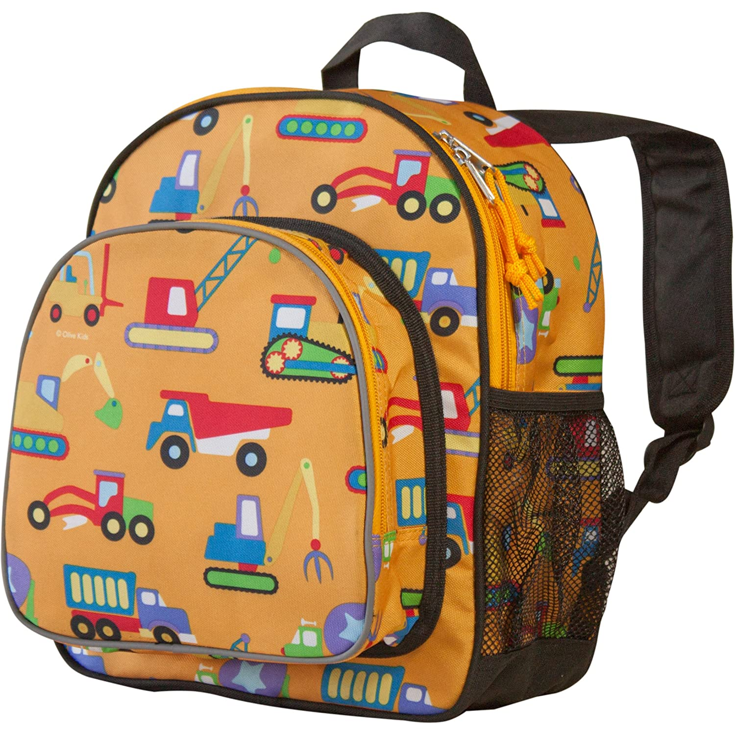 Wildkin Toddler Pack 'n Snack Backpack Construction