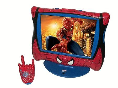 Lexibook  LCD1SP - Ameublement et Décoration - TV LCD Spiderman Ecran 15 Pouces