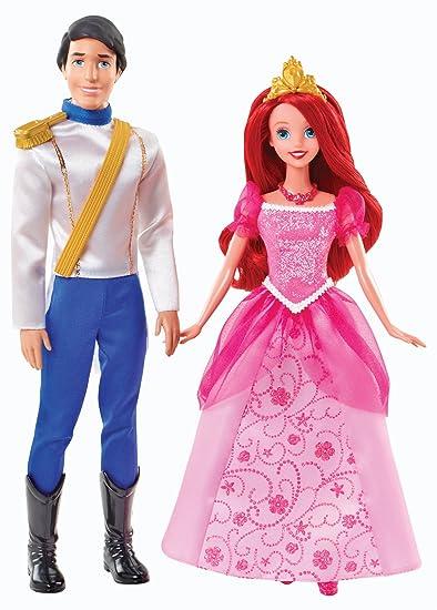 Disney Princesses - Y0939 - Poupée - Coffre Ariel et Eric