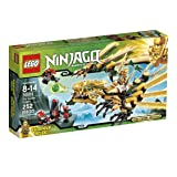 LEGO Ninjago The Golden Dragon 70503 (Discontinued by manufacturer) (Color: Gold)