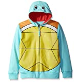 Pokemon Big Boys Squirtle Costume Hoodie, Blue, M-10/12 (Color: Blue, Tamaño: M-10/12)