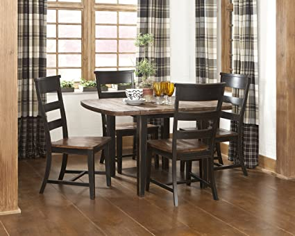 Janes Gallerie Winchester Rustic 5-piece Drop Leaf Dining Set