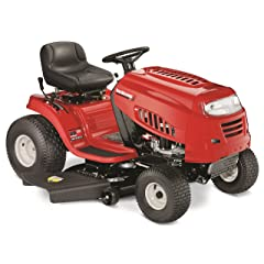 Yard Machines 420cc 42-Inch Riding Lawn Mower