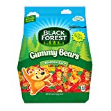 Black Forest Gummy Bears Ferrara Candy, Natural and Artificial Flavors, 6 Pound (Color: Assorted, Tamaño: 6-Pound)