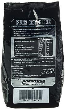 Pumpfood Pure Arginin, 1er Pack (1 x 250 g)
