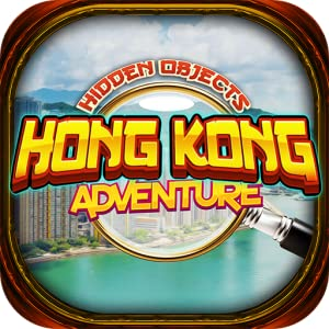 Hidden Objects - Hong Kong China Adventures & Object Time Puzzle Games from Detention Apps