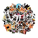 Sticker Decals - 77 Pcs Animals Vinyl Laptop Stickers Car Sticker for Snowboard Motorcycle Bicycle Phone Mac Computer DIY Car Window Bumper Luggage Decal Graffiti Patches (77 Pcs Animals) (Color: 77 Pcs Animals)