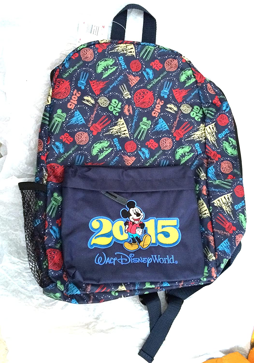 Walt Disney World Icon 2015 Adult Size Backpack NEW