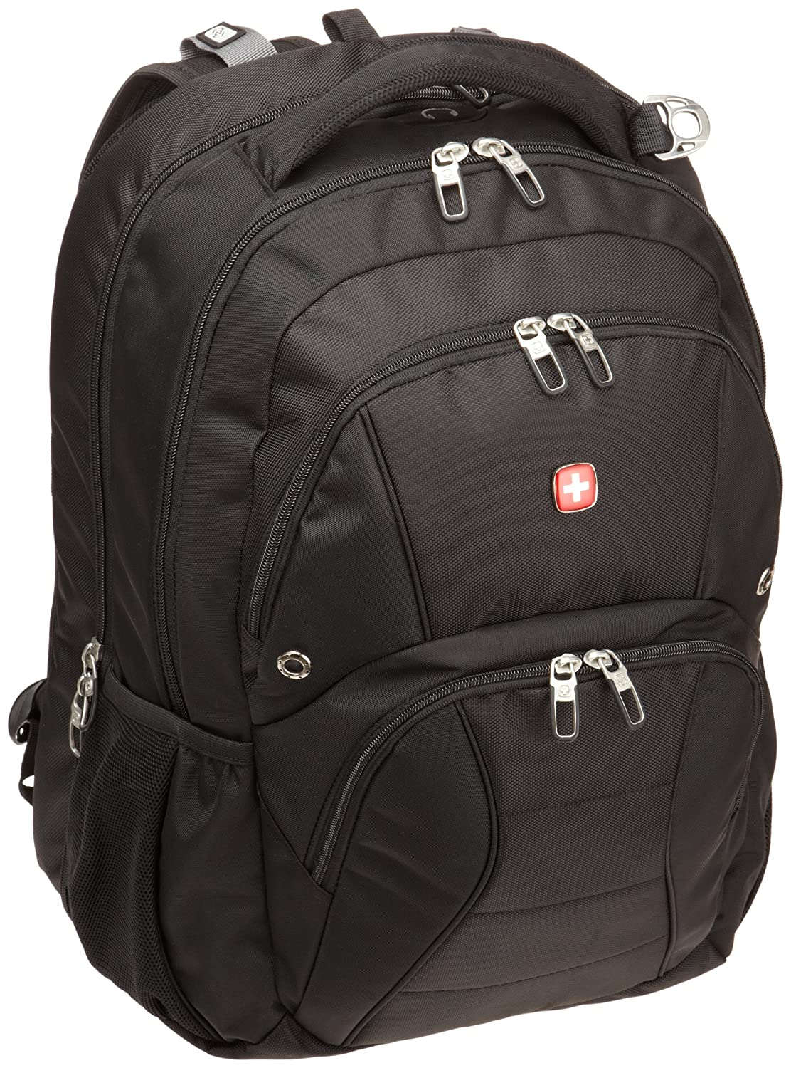 SwissGear SA1908 ScanSmart Backpack (Black) Fits Most 17 Inch Laptops $45.42