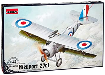 Roden 630 Nieuport 27c1 1:32 Plastic Kit Maquette