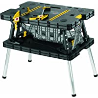 Keter 17182239 Folding Work Table (Black)
