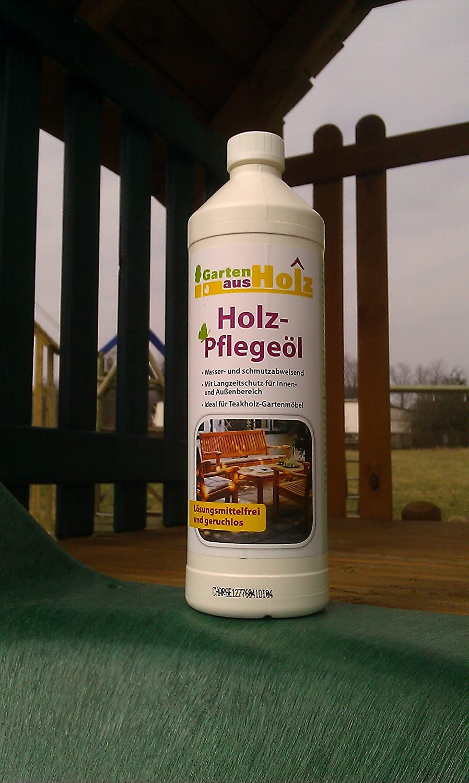 Holz-Pflegeöl 1 Liter Holzpflege Holzpflegemittel Holzschutz Holz pflegen Inhalt 1 Liter jetzt bestellen